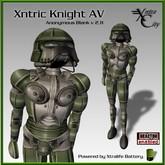 Robot Avatar - Xntric Knight - Green