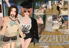 ZZANG Kawaii Happy Days Friendship Pose 001 - Star Struck!