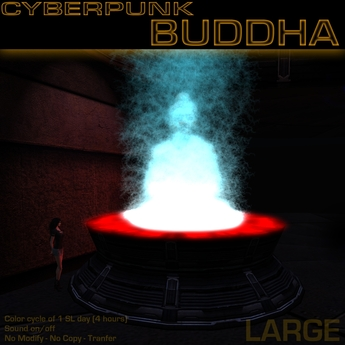 Bouddha cyberpunk (Grand)