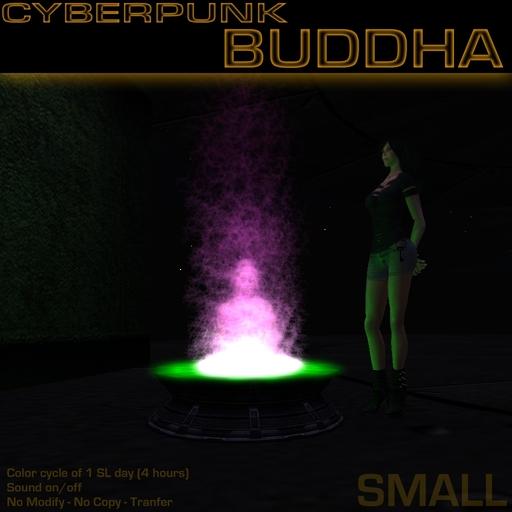 Cyberpunk Buddha (Small)