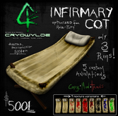 :Infirmary Cot: - CRYOWILDE - by Khyle Sion at ~Refined Wild~