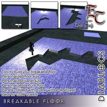 DIABLOCS Breakable floor BOX