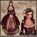 [Wishbox] Opheliac (Sunset Parfait) - Petal-strewn Renaissance Gown Dress Marie Antoinette Costume EGL Rococco
