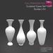 %50SUMMERSALE Full Perm Sculpted Vases  Builder's Kit Set