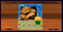 Its almost my birthday sonograhm picture