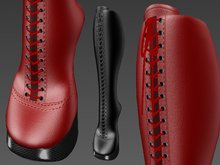 Kcreations Knee-Length RLV Pony Boots with 28 selectable textures (Leather)