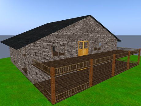 Second Life Marketplace Big Country House