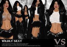 (VS) WILDLY SEXY -vampire neko gothic outfit