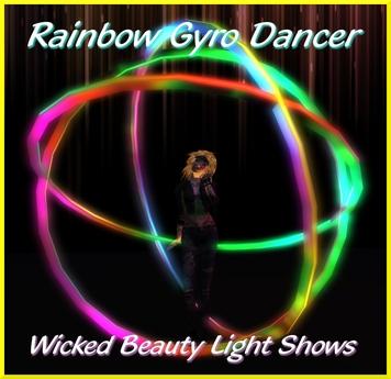 Rainbow Gyro Dancer