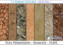 Terrain Textures: Mud Vol. 1 - Full Permissions