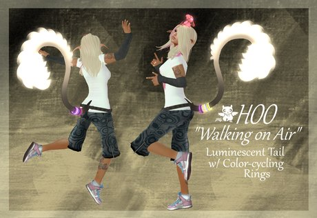 "HOO~ ""Walking on Air"" Tail"