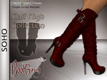 !!!SALE!!!  Bootgasm Soho Calf High Leather Boots Red !!!PROMOTIONAL PRICE!!!