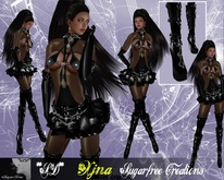 **SD**XX Extreme XJNA Madame Vampire Outfit ( Black )Copy version