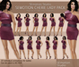 SEmotion Cherie Lady Animation Pack - 10 standing animation