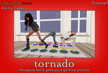 "[croire] ""Tornado"" Pose Prop - 3 poses - Group Pose Prop - Friend Pose Prop - teen child game home decor decorations"