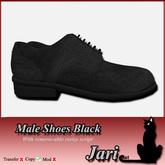 JariCat Male Shoes - Black