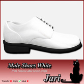 JariCat Male Shoes - White