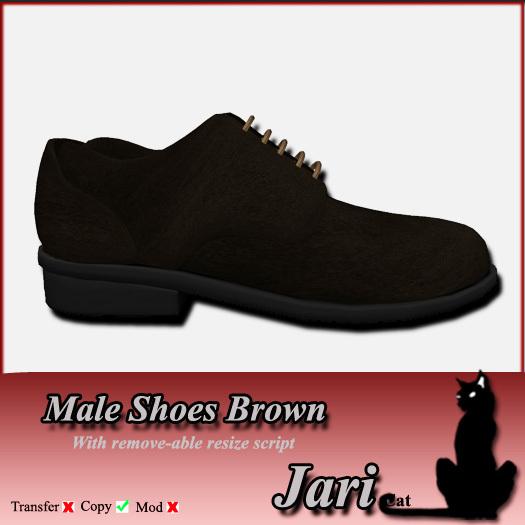 JariCat Male Shoes - Brown
