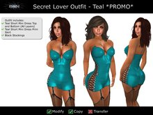 BSN Secret Lover Outfit - Teal *PROMO*