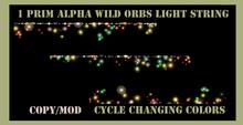 wild light orbs light string