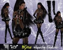 **SD**Transf-XX Xjna Outfit Extreme Outfit Black