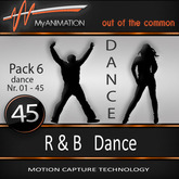 MyANIMATION * NEW * Pack 6 - R & B Dances - SUPER REALISTIC Motion Capture Animations - Watch VIDEO