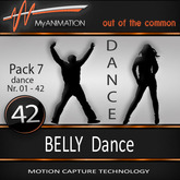 MyANIMATION * NEW * Pack 7 - BELLY Dances - SUPER REALISTIC Motion Capture Animations - Watch VIDEO