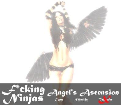 *FN* Angel's Ascension Pose