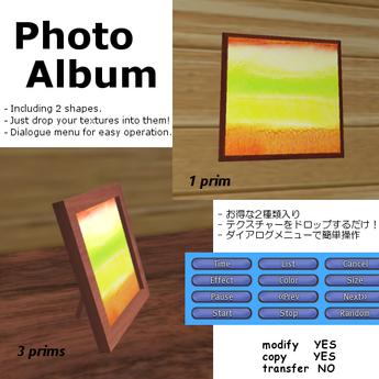 *AQF* Photo Album v2.0 BOX