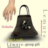 dollarbie - bag + nails - Lemure store