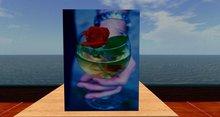Card: Glass Rose (HAPPY ANNIVERSARY!)