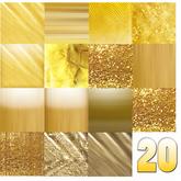 .::20 GOLD & METAL Textures by CASA DIABOLICA::.