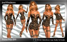 PROMO - Designs by Jessi Windstorm - Huntress - Zebra Umber