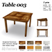 *AQF* Table 003 BOX