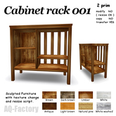 *AQF* Cabinet Rack 001 Rev.3 BOX