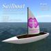 *AQF* Sailboat v1.1 (white) PreciousOnes BOX
