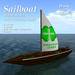*AQF* Sailboat v1.1 (wood) PreciousOnes BOX