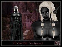 ..::AKA::.. Black Elf male  (skin shape & ears)