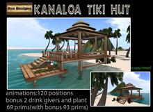 PROMO 370L OFF! Kanaloa Tiki Hut