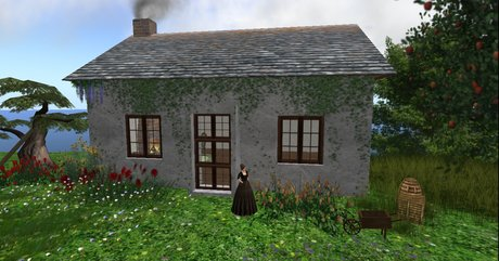 Emma's Traditional Irish Country Cottage with Accessories