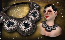 P.C; Agate Bib Necklace