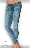 [KAYFO] Skinny Jeans- Pale Blue