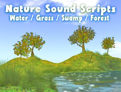 Nature Sounds Box - Water / Grassland / Swamp / Forest / Wind