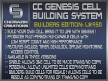 CC Genesis Cell Build System :: Builders
