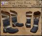 *LightStar - Ring Strap Boots-Brown&BlueGray