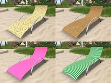 Deck Chair with Animation