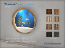 "FISH: ""Porthole"" - Round Aquarium (Small)"