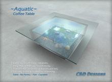 "FISH: ""Aquatic"" Coffee Table"