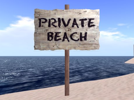 Second Life Marketplace Private Beach
