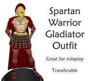 The Spartan Warrior Gladiator